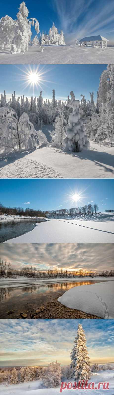 © Fantastic winter from the photographer Vladimir Chuprikov.
