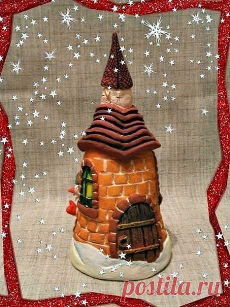 Лепим сказочный домик из соленого теста - Путь к истинной себе