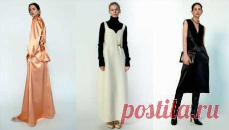 Брюки с эффектом бесконечно длинных ног и шерстяные платья с вырезом, чтобы красиво пережить зиму | Офигенная