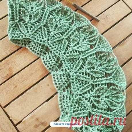 Красивая кокетка  #вязание #узоры #рукоделие