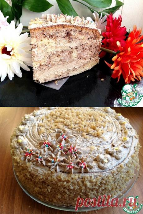 """La torta kofeyno-de nuez """"Византия"""""""