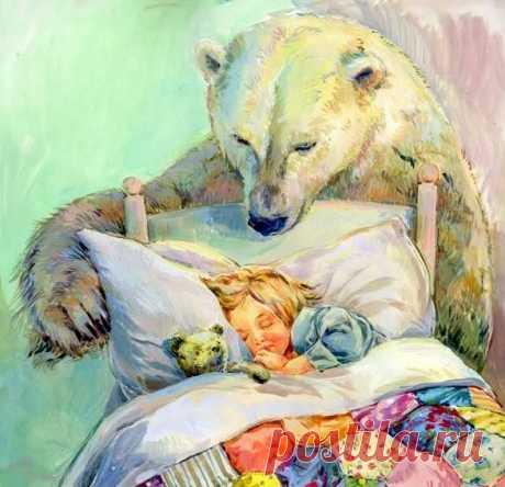 Нежных снов и слов на ночь =)