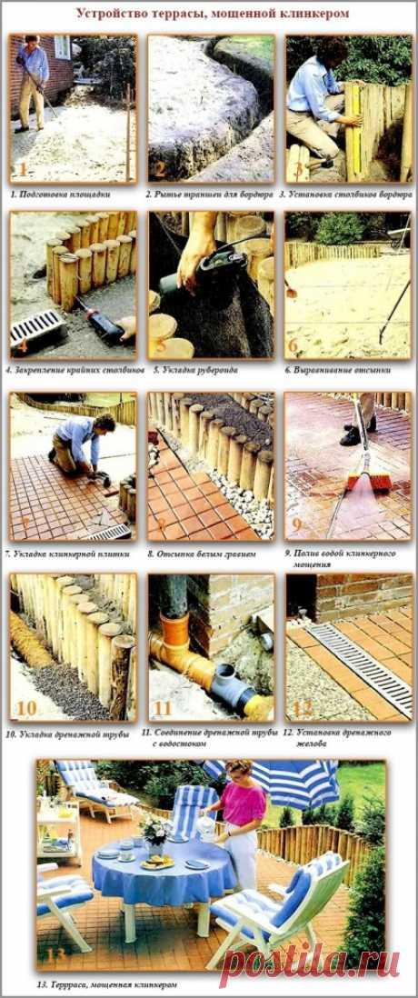 Строительство террасы: обзор 4-х вариантов монтажа террасного настила