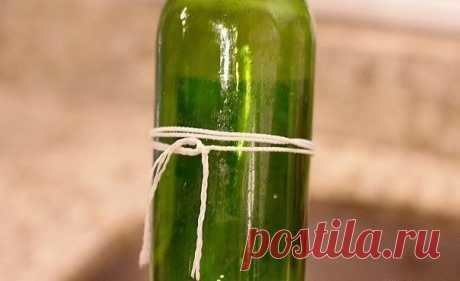 Аккуратно, быстро и легко разрезаем бутылку для декора — Сделай сам, идеи для творчества - DIY Ideas