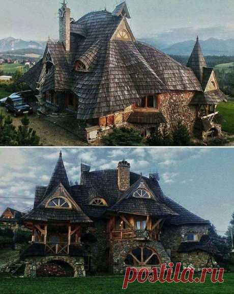 Домик в горах. Польша.