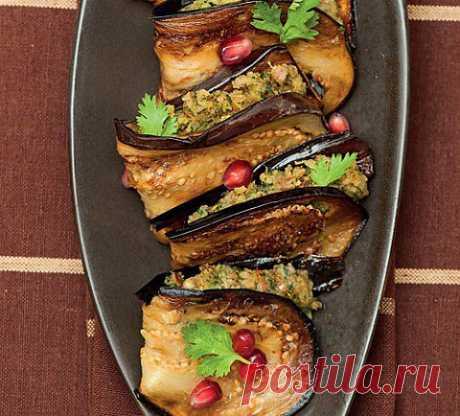 Баклажаны с орехами   ПолонСил.ру - социальная сеть здоровья