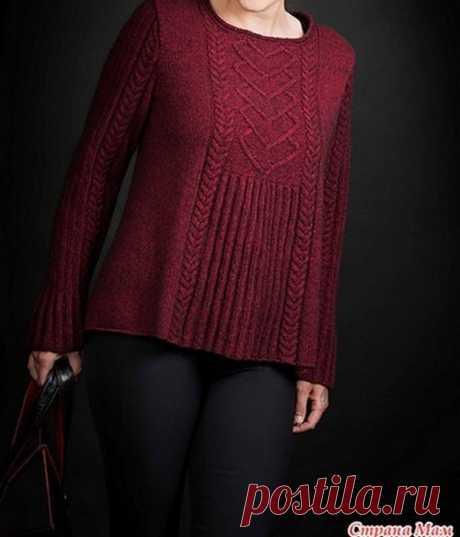 Пуловеры, жакеты, свитера | Записи в рубрике Пуловеры, жакеты, свитера | Много интересного для меня и для вас.