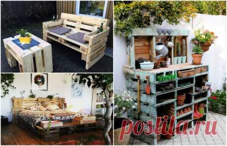 5 крутых идей дачной мебели, которую можно сделать своими руками - Дачный участок - медиаплатформа МирТесен