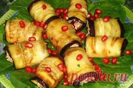 Баклажаны с грецкими орехами - пошаговый рецепт с фото на Повар.ру