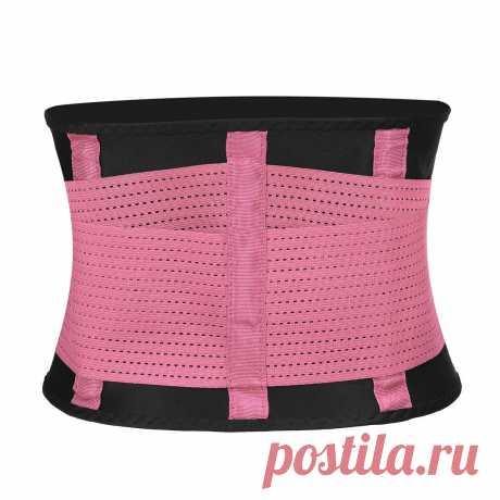 Slim belt body shaper waist trainer trimmer sport gym fat burning device Sale - Banggood.com