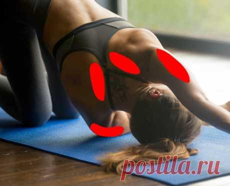 Упражнения от боли в спине при сидячей работе | Делимся советами
