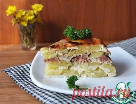 """Картофельная запеканка """"Семейная"""" – кулинарный рецепт в мультиварке"""