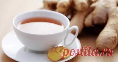 Почему нужно пить чай с имбирем и как правильно его приготовить       Не только вкусно, но и очень полезно!