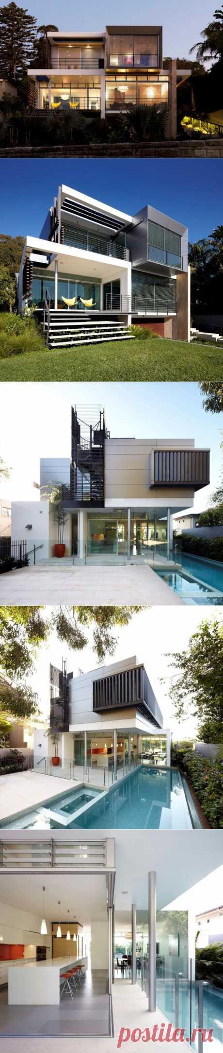 Wentworth Rd House by Edward Szewczyk Architects » CONTEMPORIST