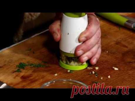 Las recetas shinkarya №24 - los calabacines Fritos - YouTube