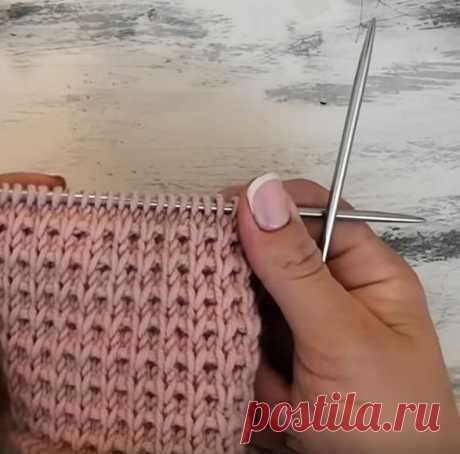 Узор спицами для вязания шапок (Вязание спицами) – Журнал Вдохновение Рукодельницы