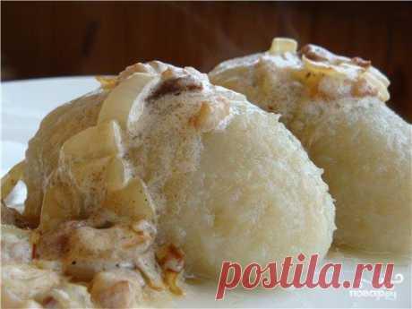 Литовские цеппелины - пошаговый кулинарный рецепт с фото на Повар.ру