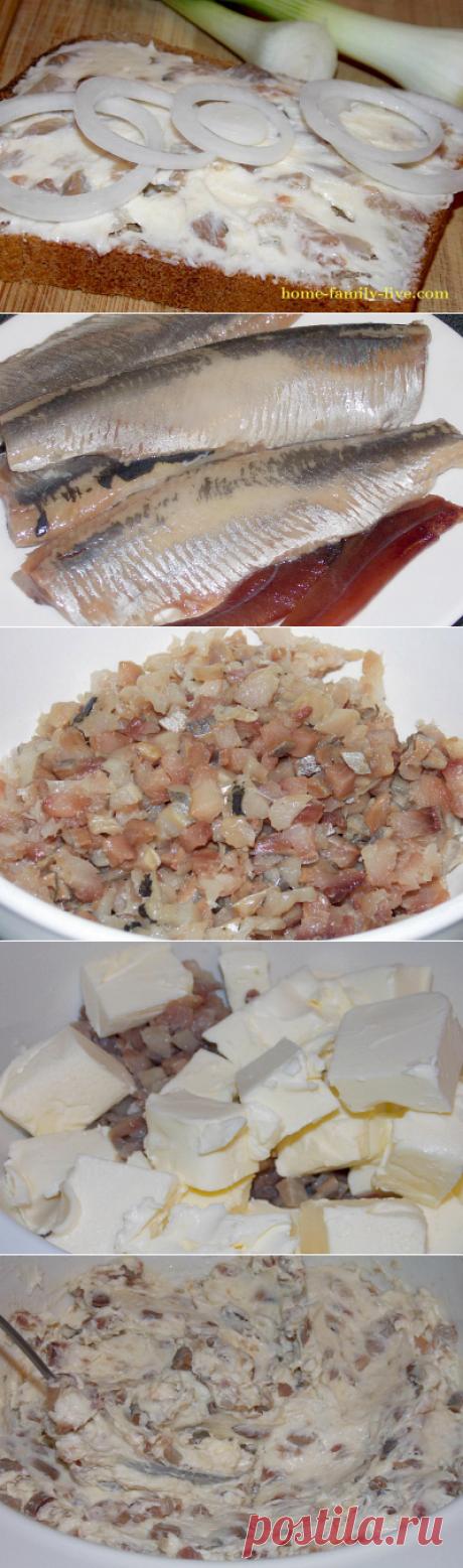 Селедочное масло/Сайт с пошаговыми рецептами с фото для тех кто любит готовить