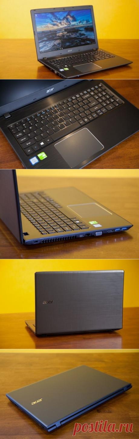 Acer Aspire E 15 (E5-575-33BM) Обзор Ноутбука | ХатаБро.Ru