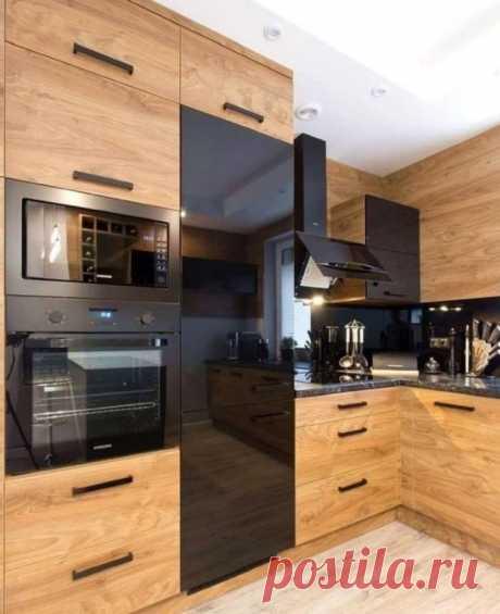 Удобная и стильная угловая кухня: 23 современных решения