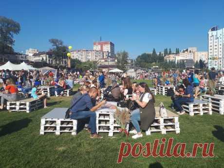 Липецкая «Ривьера» принимает любителей шоколада (фото) Сразу пять  «вкусных» площадок организовали в областном центре