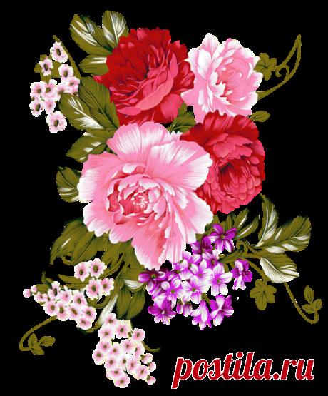 """Сборка клипарта """"Цветы"""""""