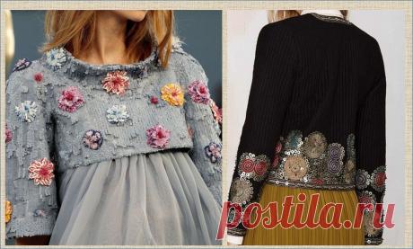 И снова про переделку одежды: берем свитера и кофточки на прокачку   МНЕ ИНТЕРЕСНО   Яндекс Дзен
