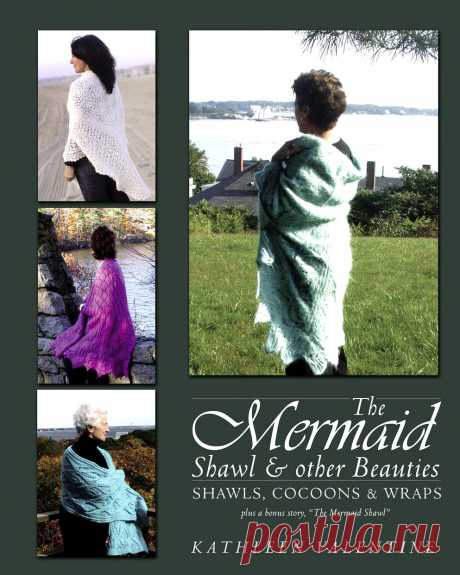 The Mermaid Shawl E other Beauties - Shawls, Cocoons & Wraps.