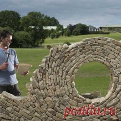 Примеры великолепных работ из камня