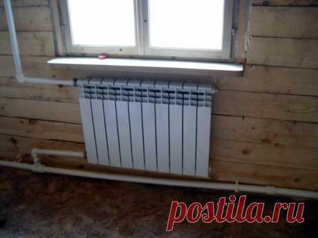 О системе отопления, выборе радиаторов