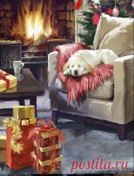 «Новый год и Рождество.» — карточка от пользователя Dina-Vesta в Яндекс.Коллекциях