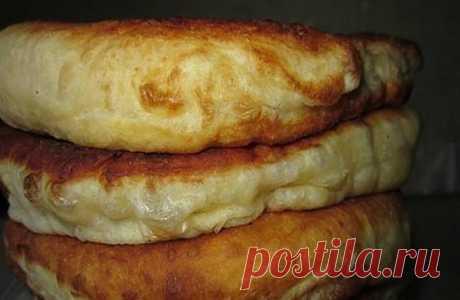 С этим рецептом забудешь, что такое хлеб! Пушистые лепешки на кефире: вкусно и быстро | KaifZona.Ru