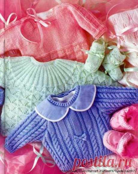 Пуловеры для годовалых малышей