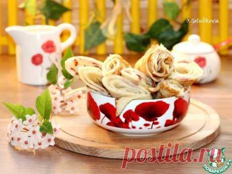 Аппетитные блины с подкопченным вкусом Кулинарный рецепт