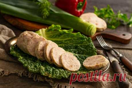 Домашняя колбаса из свинины с курицей. Пошаговый рецепт с фото — Ботаничка.ru