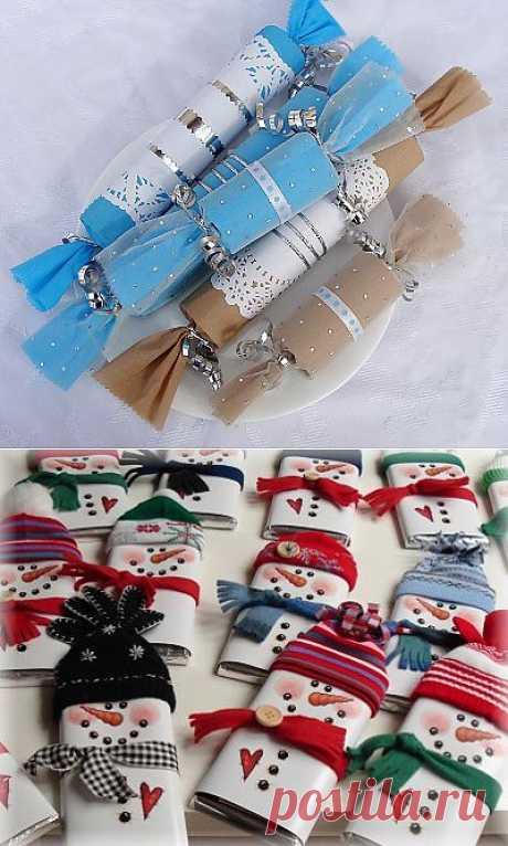 Новогодняя упаковка своими руками. Новогодняя упаковка для подарков. Новогодняя упаковка из картона. Как сделать упаковку для подарка своими руками.