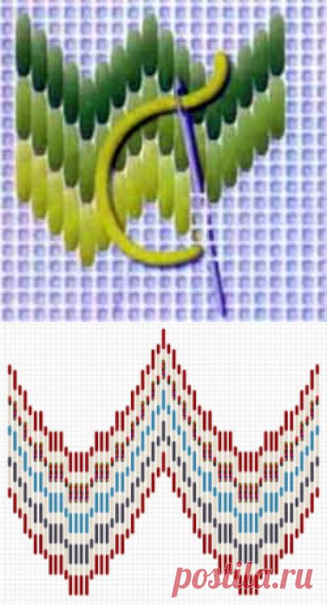 Барджелло техника вышивки в видео материале