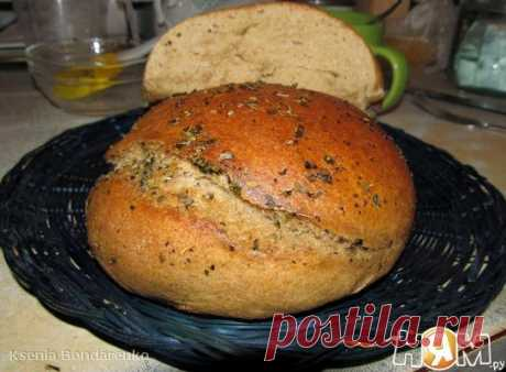 Bread from rye and wheat flour - the Recipe with step-by-step photos - Ням.ру