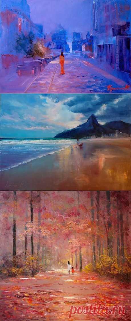 Меланхолия в работах Кристины Нгуен (20 картин)