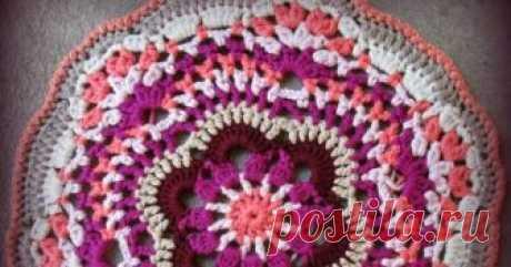 Bougainvillea Doily Pattern crochet doily, crochet mandala, doily, mandala