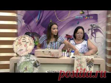 Mulher.com - 30/01/2017 - Relógio em placa de MDF - Rose Rodrigues P2