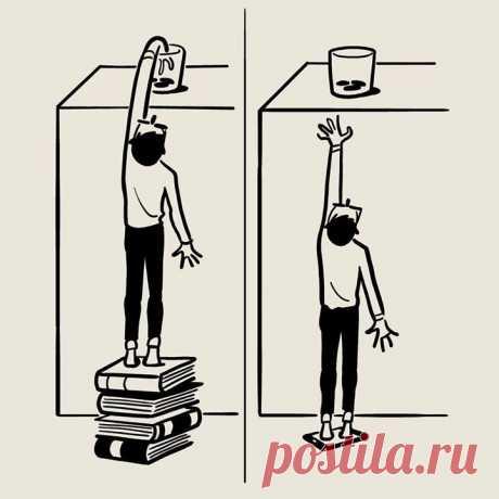 Иллюстрация Кристофа Ниманна, автора книги «Скетчи по воскресеньям».