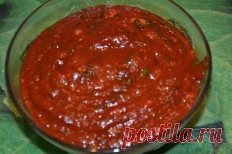 Соус к шашлыку, стейкам и жареному мясу - Кулинарный рецепт - Повар в доме
