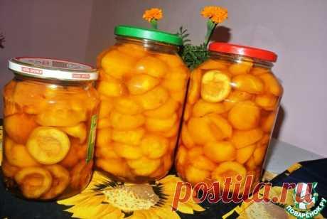 Дольки персиков в сиропе на зиму Кулинарный рецепт