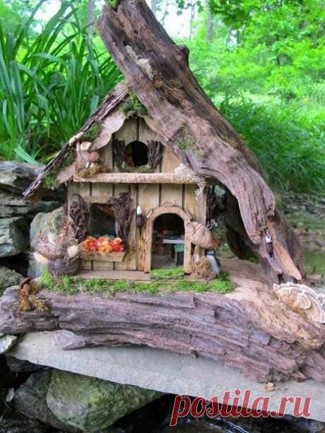 Идеи декора садового участка