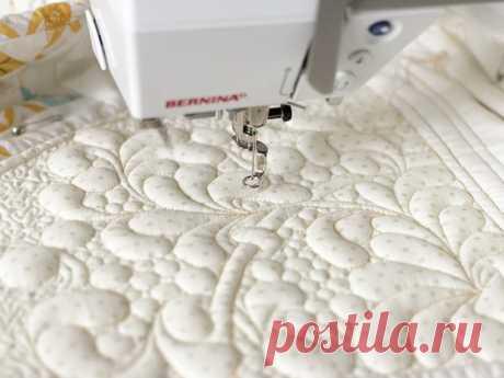 Квилтинг на швейной машинке для начинающих: мастер-класс пошагово с видео