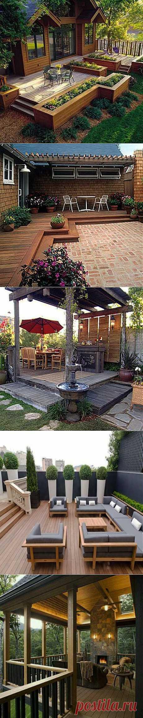 Уютная терраса на даче: 10 фото и рекомендаций   ВСЁ ДЛЯ ДОМА