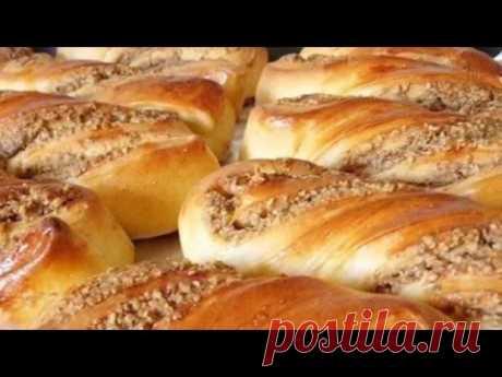 Ореховые булочки - YouTube