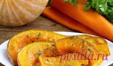 Запеченная тыква в духовке кусочками - вкусные и быстрые рецепты приготовления Всем доброго дня! Сегодня будем на ужин делать очень вкусное и полезное блюдо. Как насчет того, чтобы запечь тыкву в