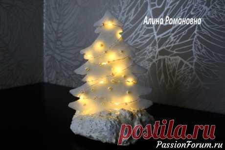Создаем новогодние елочки из потолочной плитки и бумаги! - запись пользователя AlinaRomanovna (Алина) в сообществе Новый год в категории Новогодний декор